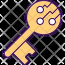 Digital Signing Key Icon
