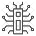 Digital Spider Chip Chipset Icon