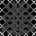 Digital spider Icon