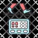 Digital Sports Pedometer Icon