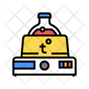 Chemical Lab Heating Icon