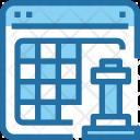 Digital Strategy Planning Icon