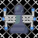 Digital Strategy Digital Plan Digital Chess Icon