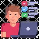 Digital Survey Icon