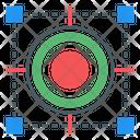 Digital Target Icon