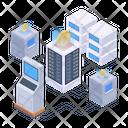 Bitcoin Network Blockchain Technology Digital Technology Icon