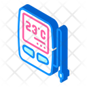 Digital Thermometer Sensor Icon