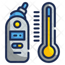 Digital Thermometer Medical Technology Icon