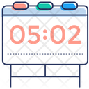 Digital Timer Timer Board Clock Icon