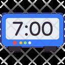 Digital Timer Digital Clock Electric Timer Icon
