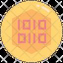 Token Digital Coin Icon