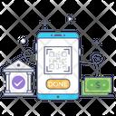 Digital Transaction Icon