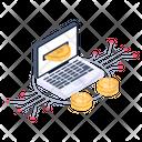 Money Transaction Digital Transaction Online Transaction Icon