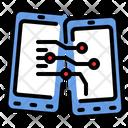 Transfer Data Exchange Icon