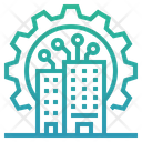 Digital Transformation Digital Economy Organization Icon