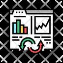 Digital Value Converter Value Digital Icon