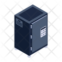 Digital Vault Bank Locker Safe Box Icon