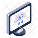 Digital Weather Forecast Desktop Forecast Mobile Forecast Icon