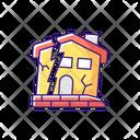 Dilapidated House Icon