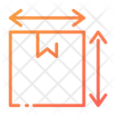 Dimension Delivery Box Size Package Size Icon