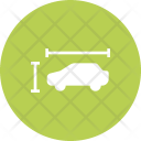Dimension Car Height Icon
