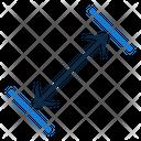 Arrows Size Dimension Icon