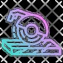 Saw Circular Electronics Icon