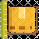 Dimension Box Dimension Parcel Dimension Icon