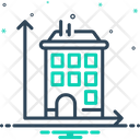 Dimension House Height Icon