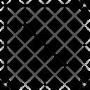 Dimensions Area Capacity Icon