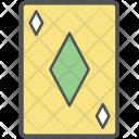 Dimond Card Diamond Icon