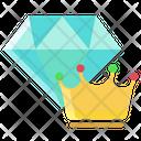 Dimond Crown Diamond Crown Icon