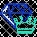 Dimond Crown Icon