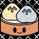 Dimsum Dumpling Chinese Icon