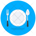 Dine In Cutlery Tableware Icon