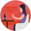 Dine Out Dinner Outing Icon