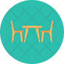 Table Chair Seat Icon