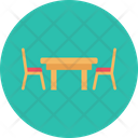 Chair Seat Table Icon