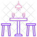 Dine Table Icon