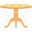 Dining Table Furniture Icon