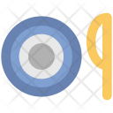 Dining Spoon Plate Icon