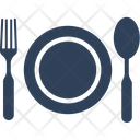 Knife Plate Fork Icon
