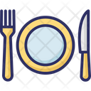 Dining Eating Fork Icon