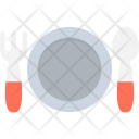 Spoon Plate Fork Icon