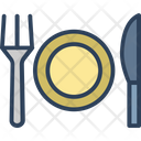 Spoon Plate Knife Icon