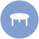 Dining Table Bar Icon