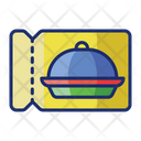 Dining Coupons Discount Free Icon