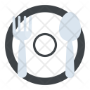 Dining plate Icon