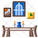 Home Apartment Table Icon