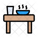 Dining Table Restaurant Table Breakfast Icon